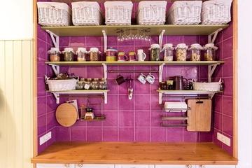 浪漫田园小户型欣赏厨房设计