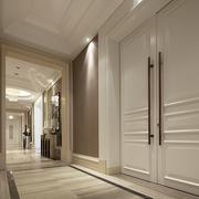 欧式风格别墅样板间室内门设计