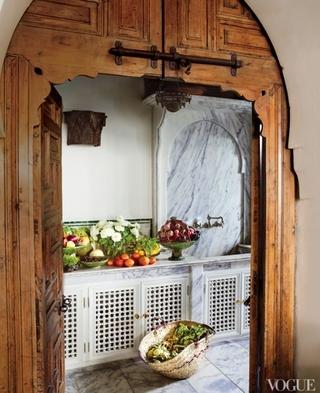 法式田园别墅欣赏厨房