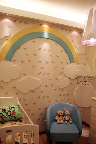 简约柔美效果图欣赏儿童房设计