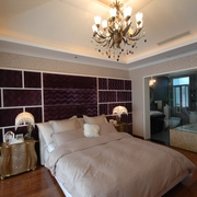 现代简约别墅效果图卧室