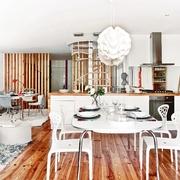 老房改造简约三居室欣赏餐厅设计