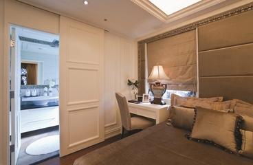 三室两厅新古典魅力住宅欣赏卧室局部