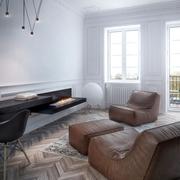 现代艺术公寓客厅