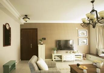 田园风雅致住宅欣赏客厅电视柜
