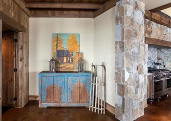北欧设计住宅效果图卧室背景墙