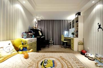 102平新古典住宅欣赏儿童房设计