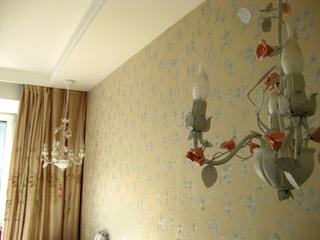 72平现代两居室欣赏客厅窗帘