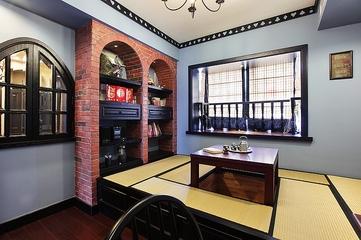 混搭风格有机住宅欣赏茶室