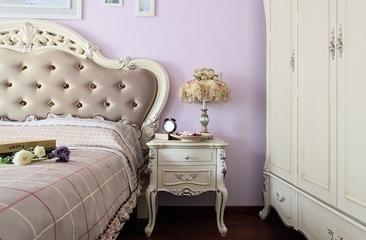 87平地中海三居室欣赏卧室灯饰