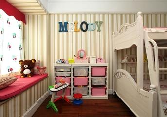 田园淑女气质住宅欣赏儿童房