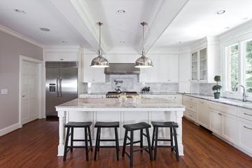 简约时尚装饰效果图赏析厨房全景设计
