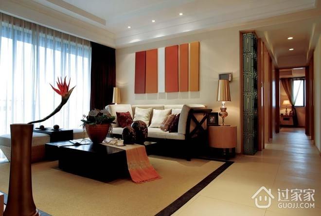 98平东南亚风格住宅欣赏