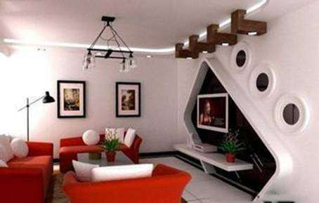 主宰客厅灵魂的电视背景墙装修