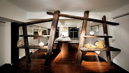 新中式禅意别墅欣赏厨房