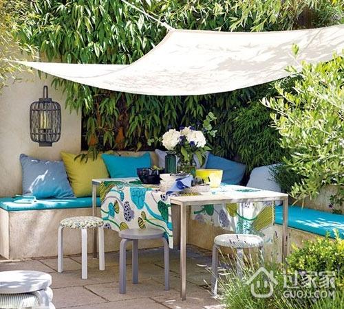 田园风格的花园餐厅设计 美景与美味尽收