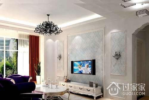 装修前 准备装修 石膏线背景墙施工需要注意什么    电视墙一般与顶面
