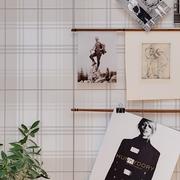 44平舒适现代一居室欣赏装饰墙