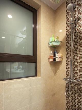 90平轻奢三居室欣赏淋浴间