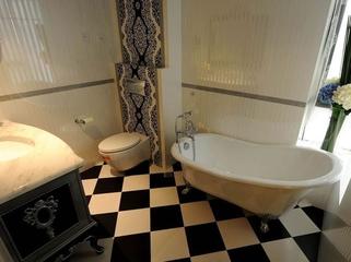 宁静奢华新古典主义欣赏卫生间