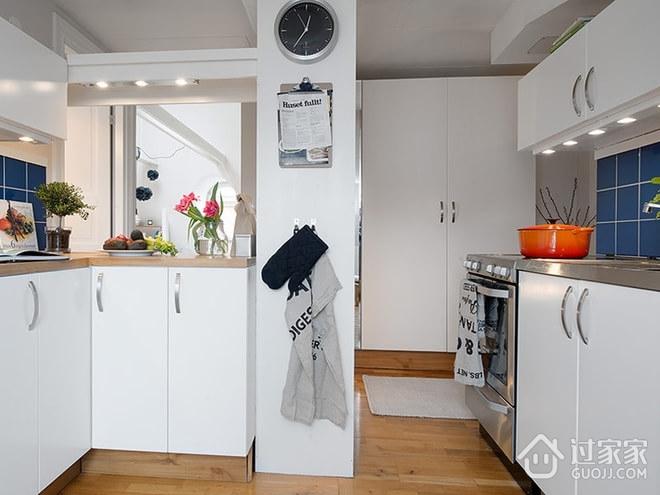 42平宜家阁楼住宅欣赏厨房