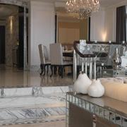 奢华新古典客餐厅台面