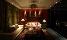 中式风格暗色系客厅设计