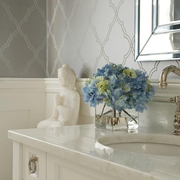 现代四居室卫生间洗手台装修效果图