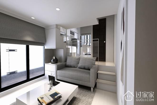 60平现代住宅一居欣赏