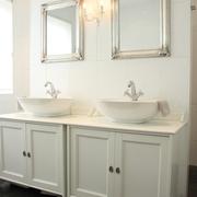 现代黑白灰别墅套图洗手台
