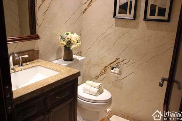 3个设计要点教你装修小卫生间样板间