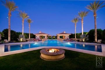 美式风格别墅套图花园泳池