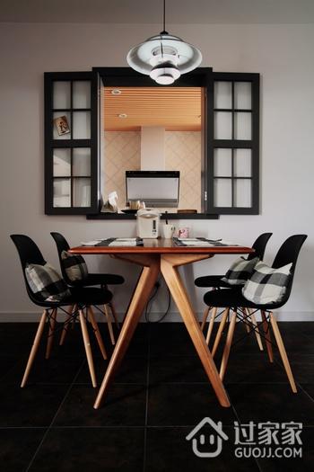 现代摩登风住宅欣赏餐厅餐桌