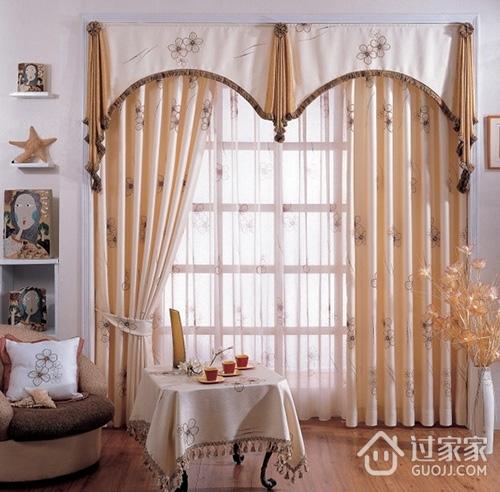 布艺窗帘的搭配方法和选购技巧