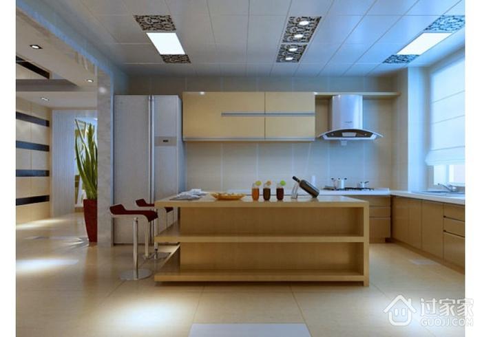 白色淡雅三居室欣赏厨房橱柜