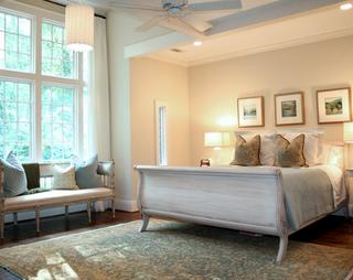 浪漫法式风情别墅欣赏卧室