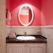 多彩斑斓 混搭卫生间浴室柜装修效果图