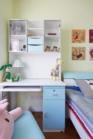 白色现代风三居室欣赏儿童房