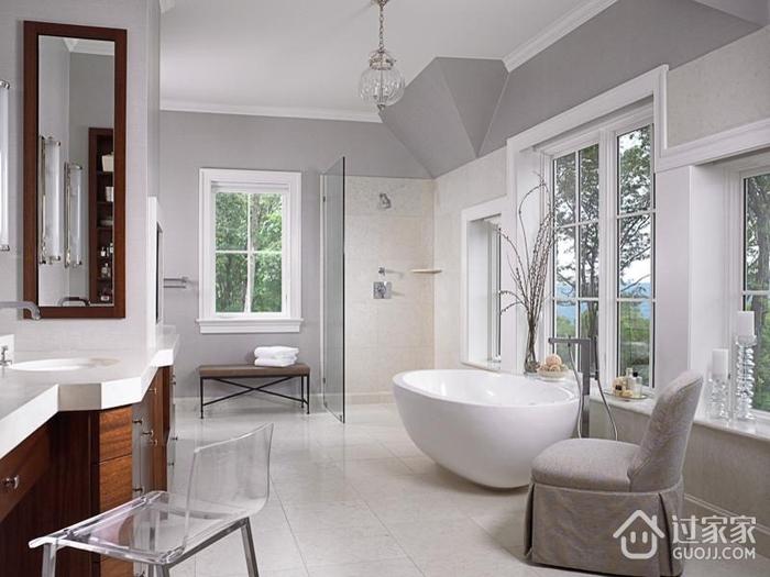 欧式风格别墅套图浴室_过家家装修效果图