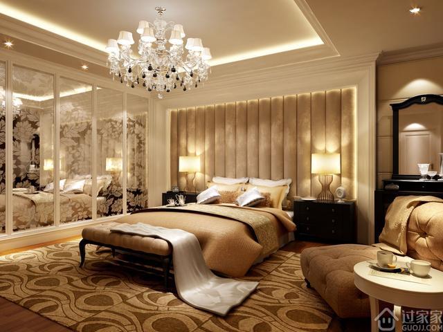 268平简欧风格的新房设计,现代和欧式风格的结合很完美