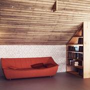 古朴与现代结合的阁楼欣赏客厅陈设