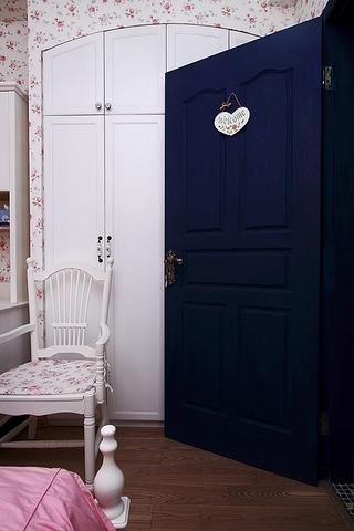 86平地中海三居室欣赏儿童房陈设