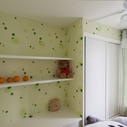 卧室书架装修效果图 温馨清新范