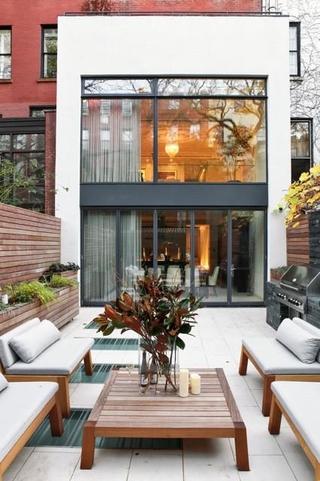现代住宅装修效果图露台