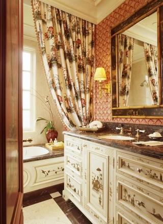 豪华欧式风格套图书房洗手间