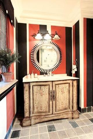 新古典自热别墅欣赏洗手间