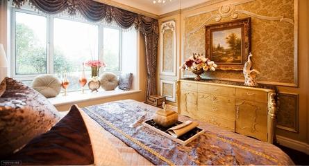 迷情欧式风住宅欣赏卧室飘窗