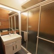 93平优雅日式风格欣赏卫生间