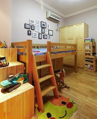 102平简约三室住宅欣赏儿童房