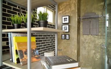 102平现代舒适住宅欣赏餐厅效果